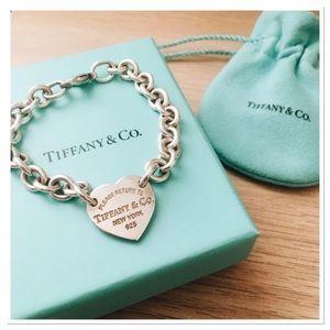 Tiffany&Co authentic RTT heart bracelet 💖